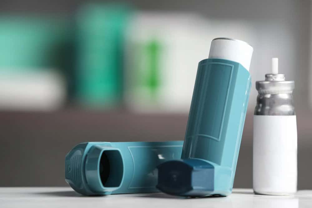 how to Use the metered dose inhaler